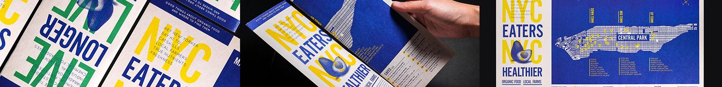 NYC X CATSKILLS: HEALTY MAP 图形设计 编辑设计 印刷设计