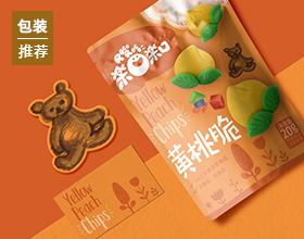 楽口楽口品牌设计及水果干产品包装设计