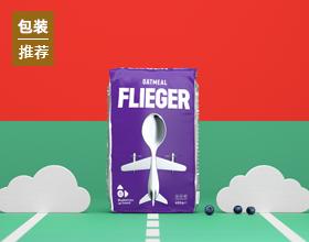 Flieger Oatmeals 包装