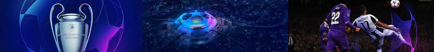 欧洲冠军联赛更新品牌视觉形象设计 完整版