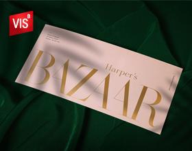 《HarpersBazaar》美国月刊女性时尚杂志品牌形象设计