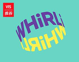 whirli 儿童玩具平台视觉形象设计