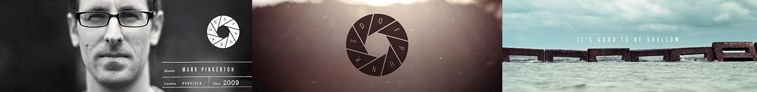 DOF Punks 摄影品牌标志设计