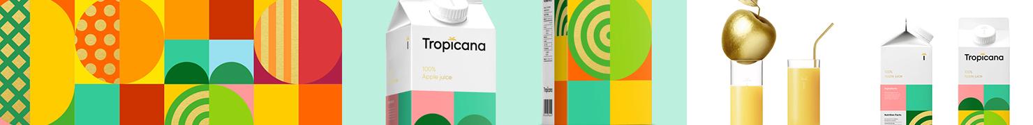 Tropicana 包装设计