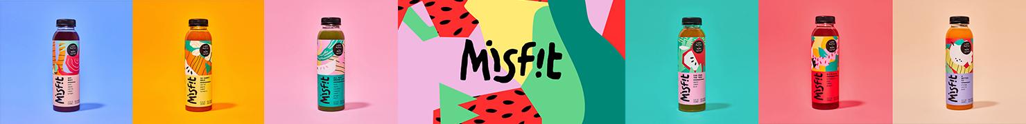 Misfit 蔬果冷榨果汁品牌设计